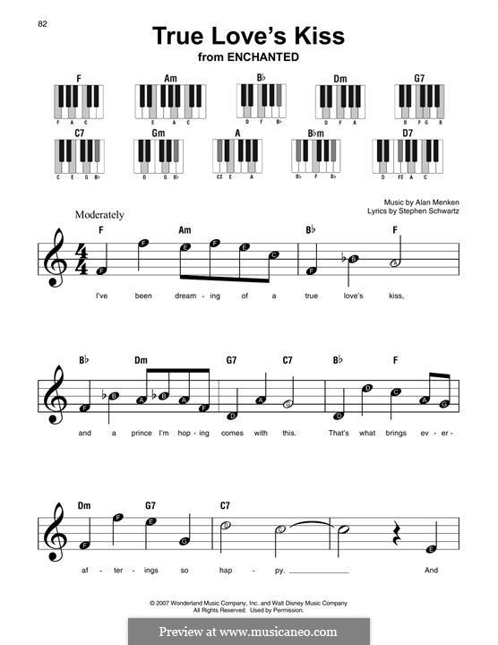 True Love's Kiss: Мелодия by Alan Menken
