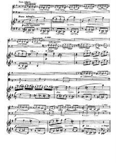 Струнный секстет No.2 соль мажор, Op.36: Часть III. Версия для фортепианного трио by Иоганнес Брамс