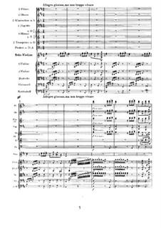 Концерт для скрипки с оркестром ре мажор, Op.77: Часть III by Иоганнес Брамс