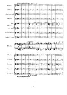 Концерт для фортепиано с оркестром No.2 си-бемоль мажор, Op.83: Часть II by Иоганнес Брамс