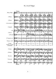 Танец No.10 ми мажор: Для оркестра by Иоганнес Брамс