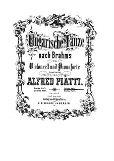 No.11-17: Для виолончели и фортепиано by Иоганнес Брамс