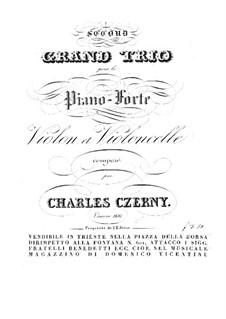 Фортепианное трио No.2 ля мажор, Op.166: Партия фортепиано by Карл Черни