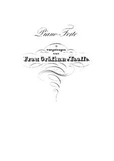 Концертный квартет для четырех фортепиано, Op.230: Партия четвертого фортепиано by Карл Черни