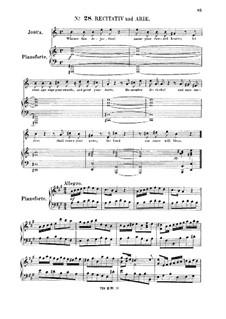 Иисус Навин, HWV 64: With redoubled rage return. Recitative and aria for tenor by Георг Фридрих Гендель
