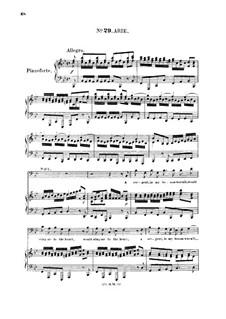 Саул, HWV 53: A serpent in my bosom warm'd. Aria for bass by Георг Фридрих Гендель