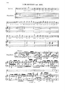 Соломон, HWV 67: Thrice bless'd that wise discerning King. Recitative and Aria for bass by Георг Фридрих Гендель
