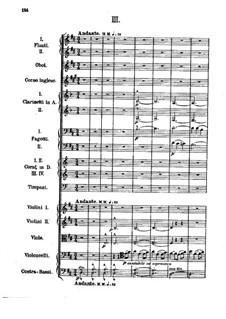 Симфония No.1 ми-бемоль мажор: Часть III by Александр Бородин