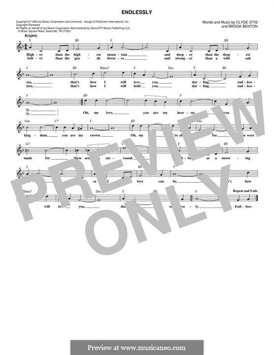 Endlessly: Мелодия by Clyde Otis