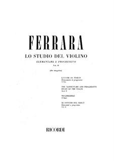 Этюды для скрипки: Сборник II by Бернардо Феррара