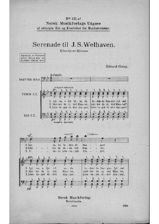 Романсы и песни, Op.18: No.9 Serenade for Welhaven by Эдвард Григ