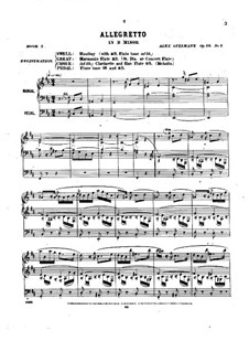 Pièces dans different styles for Organ: Book 5, Op.19 by Александр Гильман