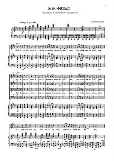 Снегурочка, TH 19 Op.12: No.19 Финал by Петр Чайковский