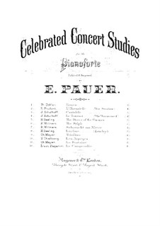 Большие этюды по Паганини, S.141: No.3 соль-диез минор (с аппликатурой) by Франц Лист