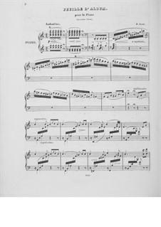 Листок из альбома No.2 ля минор, S.167: Для фортепиано by Франц Лист