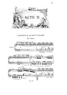 Манон: Акт II. Аранжировка для голосов и фортепиано by Жюль Массне