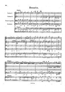 Соната для двух скрипок, виолы да гамба и бассо континуо до мажор, BuxWV 266: Соната для двух скрипок, виолы да гамба и бассо континуо до мажор by Дитрих Букстехуде