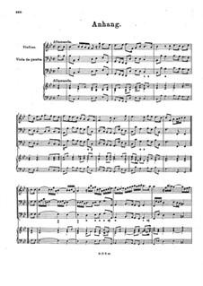 Семь сонат для скрипки, виолы да гамба и бассо континуо: Дополнение, BuxWV 252-258 Op.1 by Дитрих Букстехуде