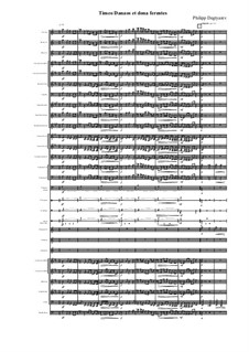 Timeo Danaos et dona ferentes, Op.24: Timeo Danaos et dona ferentes by Филипп Дегтярев