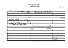 Song based on a poem of Sappho, MVWV 1154: Song based on a poem of Sappho by Maurice Verheul