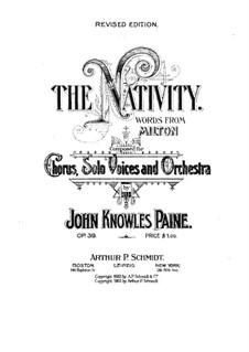 The Nativity, Op.38: The Nativity by Джон Ноулз Пейн