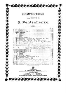 Три прелюдии, Op.66: Три прелюдии by Семён Панченко