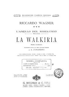 Валькирия, WWV 86b: Клавир by Рихард Вагнер