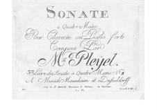 Соната No.2 для клавесина и фортепиано  в четыре руки: Соната No.2 для клавесина и фортепиано  в четыре руки by Игнац Плейель