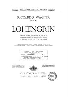 Вся опера: Аранжировка для фортепиано by Рихард Вагнер