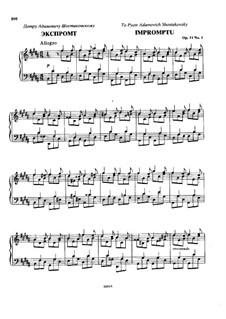 Четыре пьесы, Op.11: Сборник by Николай Римский-Корсаков