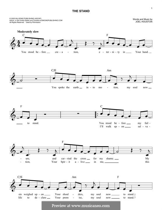 The Stand: Мелодия by Joel Houston