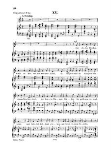 No.15 Забытые старые сказки: Для голоса и фортепиано by Роберт Шуман