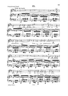 No.9 Напевом скрипка чарует: Для голоса и фортепиано by Роберт Шуман