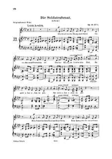 Романсы и баллады, Op.64: No.1 Die Soldatenbraut by Роберт Шуман
