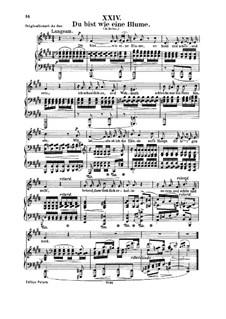 No.4 Тишина: Для голоса и фортепиано by Роберт Шуман