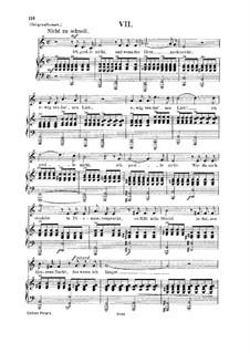 No.7 Тоска гнетет: Для голоса и фортепиано by Роберт Шуман