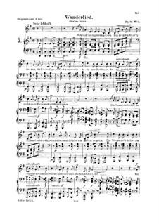 No.3 Песенка: Для голоса и фортепиано by Роберт Шуман