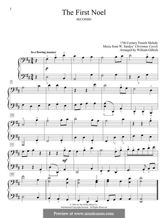 Piano version: For four hands by folklore