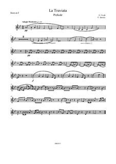 Фрагменты: Prelude, für Brass Quintett – Parts by Джузеппе Верди
