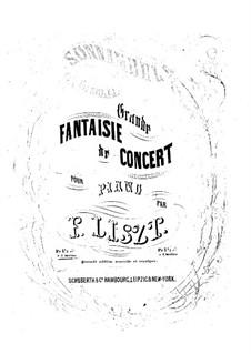 Фантазия на темы из оперы 'Сомнамбула' Беллини, S.393: Версия II by Франц Лист