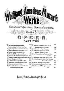 Увертюра: Партитура by Вольфганг Амадей Моцарт