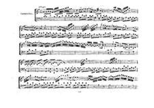 Трио для скрипки, виолончели и фортепиано No.1 соль мажор, K.496: Партии by Вольфганг Амадей Моцарт