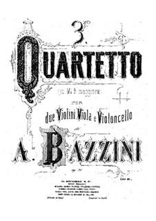 Струнный квартет No.3 ми-бемоль мажор, Op.76: Скрипка I by Антонио Бадзини