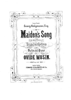 Maiden's Song: Maiden's Song by Эрик Мейер-Хелмунд