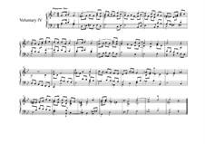 Six Voluntaries for Organ (or Harpsichord): Voluntary No.4 by Джон Бекуит