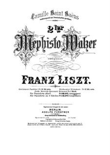 Вальс No.2 ми-бемоль мажор, для фортепиано, S.515: Вальс No.2 ми-бемоль мажор, для фортепиано by Франц Лист
