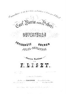 Увертюра: Для фортепиано by Карл Мария фон Вебер