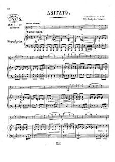 Pensées fugitives, Op.30: Аджитато, для скрипки и фортепиано by Стефан Геллер, Генрих Вильгельм Эрнст