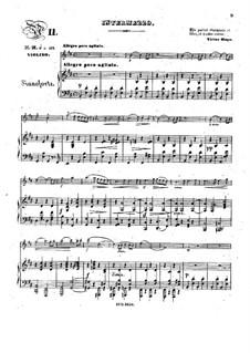 Pensées fugitives, Op.30: Интермеццо, для скрипки и фортепиано by Стефан Геллер, Генрих Вильгельм Эрнст