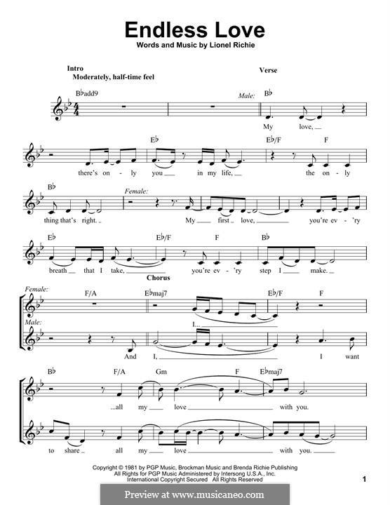 Endless Love: Мелодия by Lionel Richie